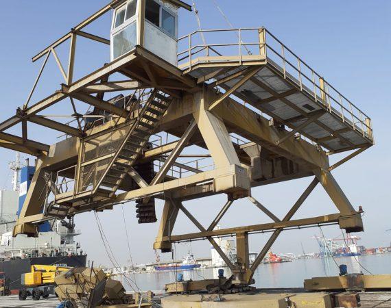 Desguace Industrial en Valenciaport