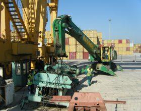Desguace trastainer puerto Valencia