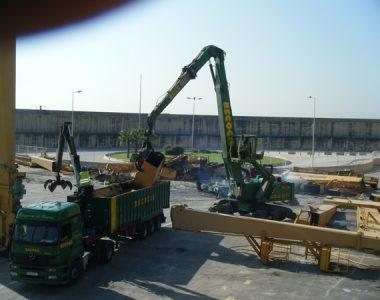 Desguace Trastainers en Maritima Valenciana, Puerto de Valencia