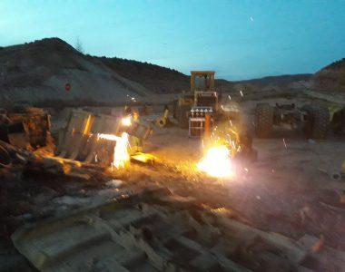 Desguace Minero en Ariño.